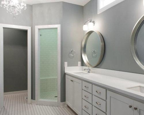 Transitional Kansas City Bathroom Design Ideas Remodels