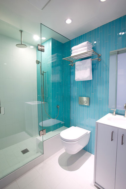 Contemporary Bathroom by Whitten Dunn Architects