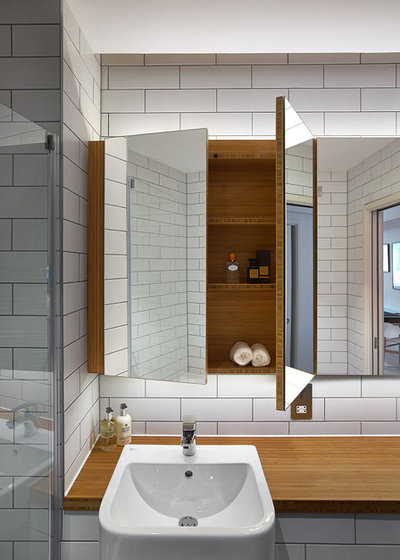 Contemporary Bathroom by Forrester Roberts Interior Design