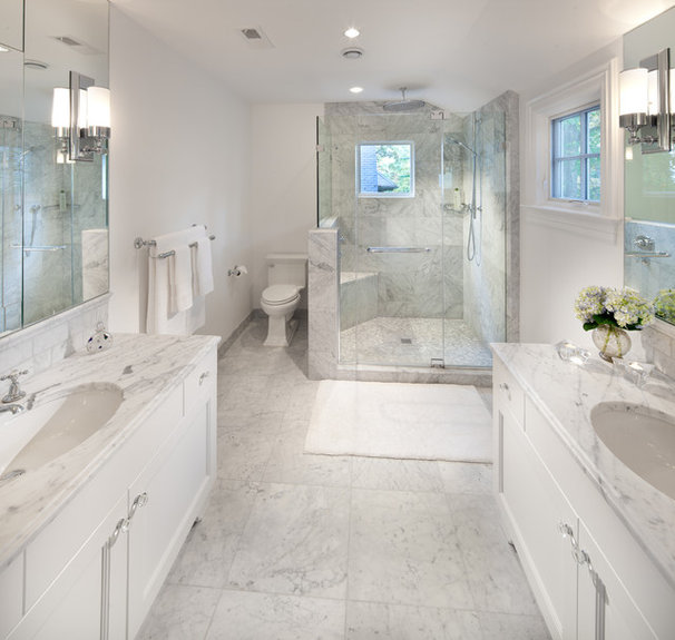 Traditional Bathroom by Anthony Wilder Design/Build, Inc.
