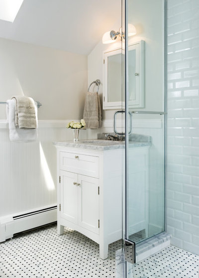 Traditional Bathroom by Haus Interior Design
