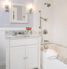traditional bathroom by Kirsten Anthony Kaplan