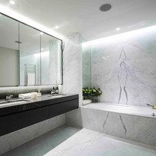 Contemporary Bathroom by Native Land