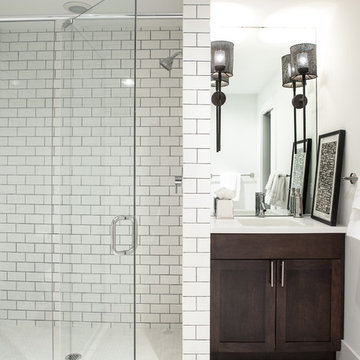 Chic and Casual Lower Level Renovation