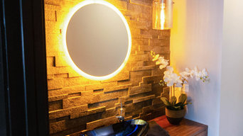 chic bathroom lighting