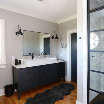 Chic Industrial Master Bath