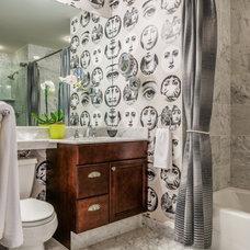Eclectic Bathroom by Meadowbank Designs
