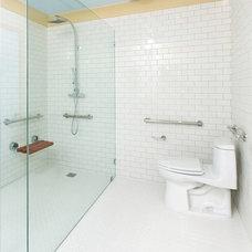 Traditional Bathroom by Lori Dennis, Inc.