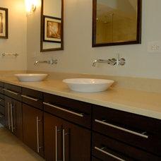 Traditional Bathroom by KB Design