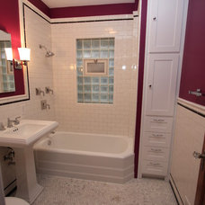 Craftsman Bathroom by Design Build 4U Chicago