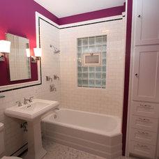 Craftsman Bathroom by Design Build 4U Chicago