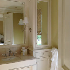 Traditional Bathroom by Barbara Page Interiors