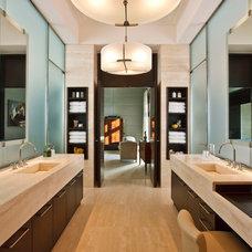 Contemporary Bathroom by Darcy Bonner & Associates