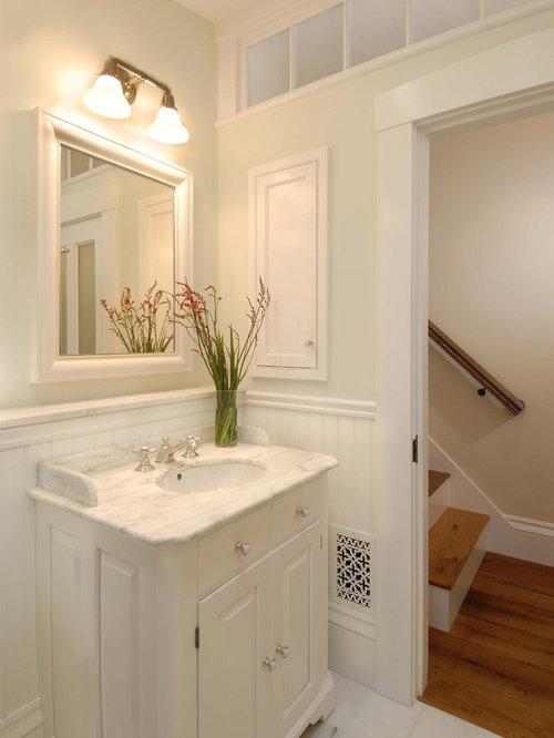 Transom Window Over Bathroom Mirror Houzz