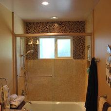 Contemporary Bathroom by Castle Rock Construction