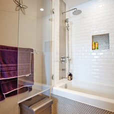 contemporary bathroom by Madison Taylor