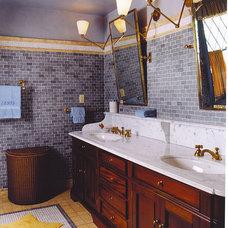 Traditional Bathroom by Maggie Cohen, ASID, NCIDQ
