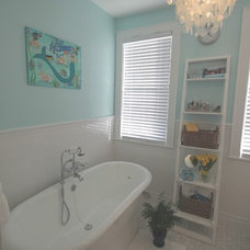Traditional Bathroom by T-Square Builders, Inc