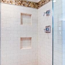 Contemporary Bathroom by Keri Morel Designs