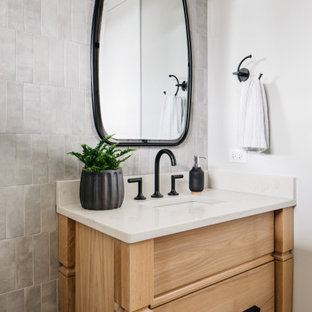 75 beautiful bathroom with light wood cabinets pictures