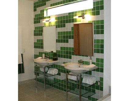 Eclectic Bathroom by Chimera Interior Design