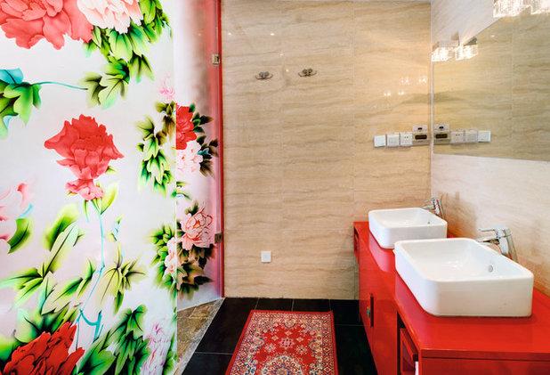 アジアン 浴室 China Home Inspirational Design Ideas Michael Freeman Yao Jing