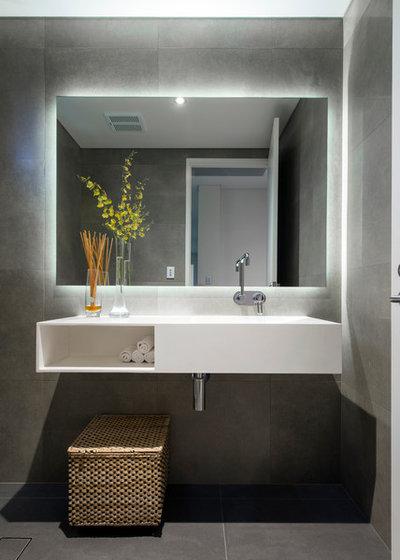 Contemporaneo Stanza da Bagno by Vivendi - Luxury Home Builders