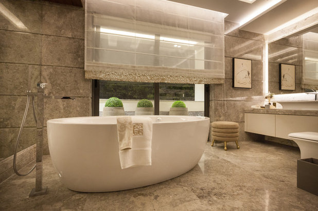 Contemporary Bathroom by Essentia Environments