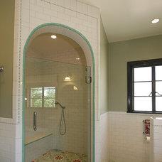 Eclectic Bathroom by Design Vidal