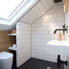 monochrome bathrooms