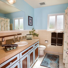 Contemporary Bathroom by Susan Diana Harris Interior Design
