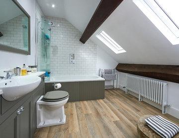 Chris & Rosemary's loft bathroom