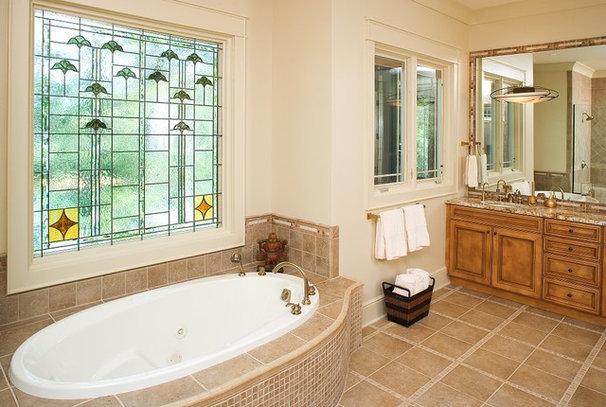 Rustic Bathroom by ID Studio Interiors
