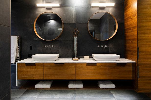 Contemporary Bathroom by d KISER design.construct, inc.