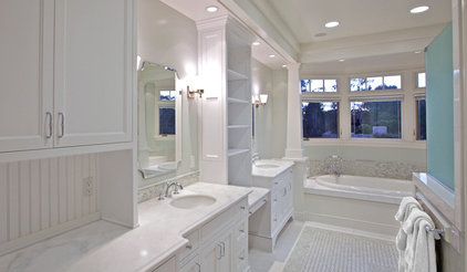 traditional bathroom by Christian Rice Architects, Inc.