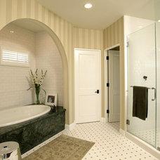 Mediterranean Bathroom by Christian Rice Architects, Inc.