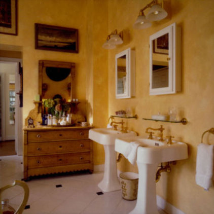 traditional bathroom by Christina Haire Interior Design