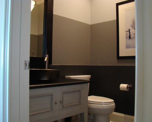 Two Tone Paint Bathroom Design Ideas Pictures Remodel