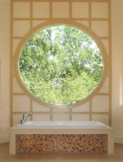 Contemporary Bathroom by Clark Construction of Ridgefield, Inc