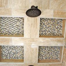 Mediterranean Bathroom by Berry Design Build