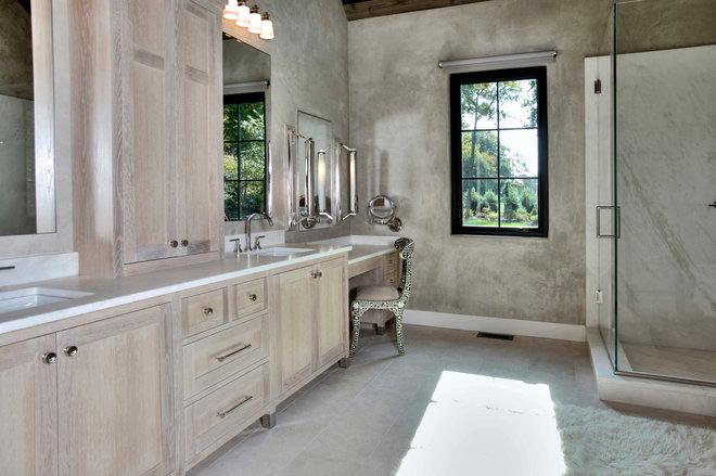 Farmhouse Bathroom by C Interiors