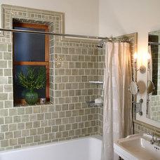 Traditional Bathroom by Alan Design Studio
