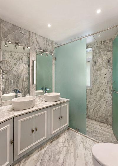 Contemporary Bathroom by Essajees Atelier