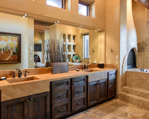 Southwest bathroom home design ideas pictures remodel - Southwestern home design and remodeling ...