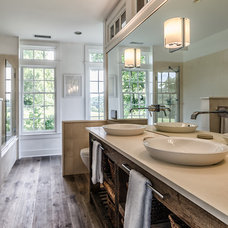 Farmhouse Bathroom by Blansfield Builders, Inc.