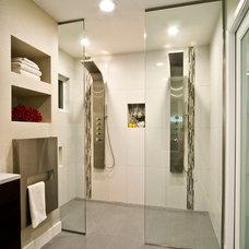 Modern Bathroom by Yana Mlynash | Kitchen & Bath Designer