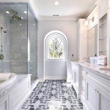 Traditional Bathroom by Artsaics Studios