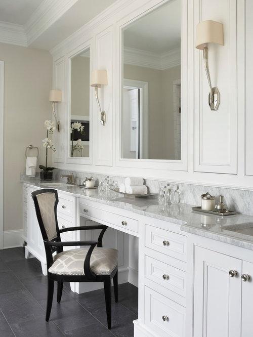 Pure White Caesarstone Countertops Houzz - Caesarstone blizzard countertop