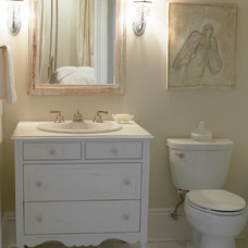 Traditional Bathroom by The French Mix Interior Design
