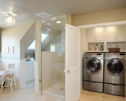 Laundry In Master Closet Home Design Ideas, Pictures, Remodel and Decor